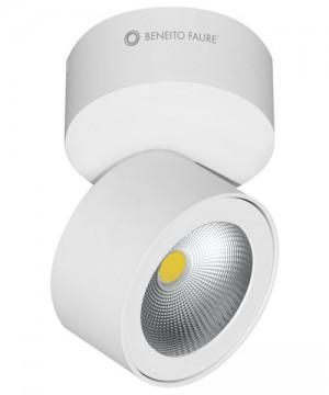 BENEITO Concord 3542 Faretto Tecnico da Soffitto o Parete Orientabile a LED 15W