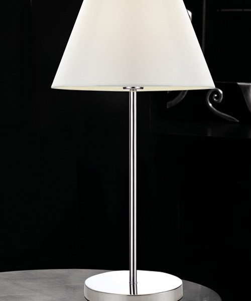 Pan soft tav564 lampada moderna da tavolo paralume in tessuto la luceria - Lampada moderna da tavolo ...