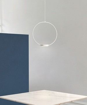 GIBAS Odigiotto 200/21 Lampadario Moderno LED 3 Colori