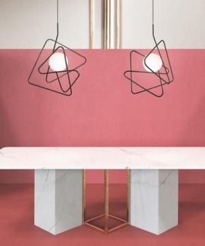 GIBAS Inciucio 201/21 Lampadario Moderno 3 Colori
