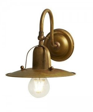 GIBAS Osteria 839/42 Lampada da Parete Rustica 2 Colori