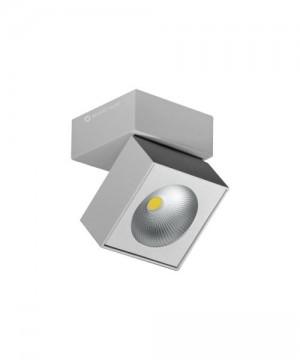 BENEITO Rubyc 3462 Faretto Tecnico da Soffitto o Parete Orientabile a LED 15W GRIGIO