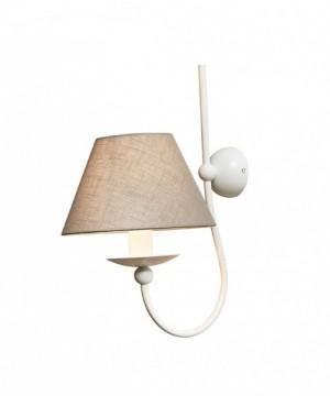 GIBAS Rocco 923/41 Lampada da Parete con Paralume 2 Colori