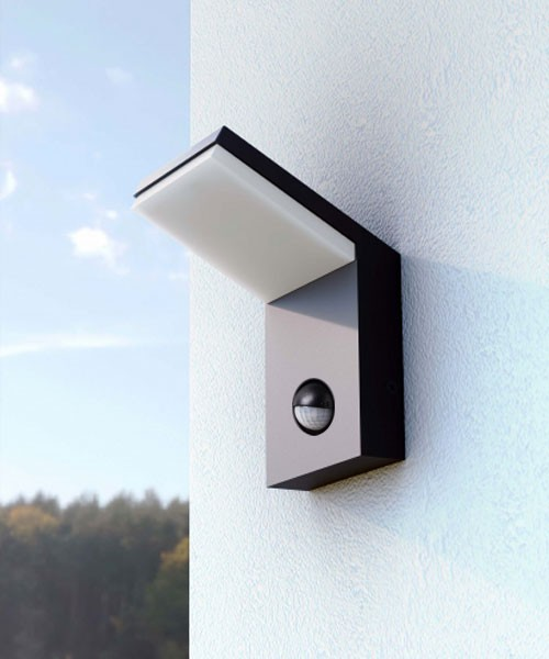Beneito neo 3584 lampada da parete per esterno a led 9w for B w da esterno