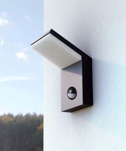 Beneito neo 3584 lampada da parete per esterno a led 9w - Cavo con lampadine da esterno ...