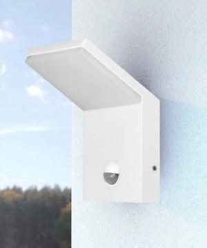 BENEITO Neo 3585 Lampada da Parete per Esterno a LED 9w BIANCO con sensore