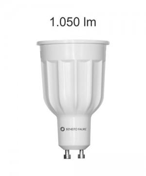 BENEITO GU10 12w 220V 60º Lampadina Dicroica a LED 2700K o 4000K