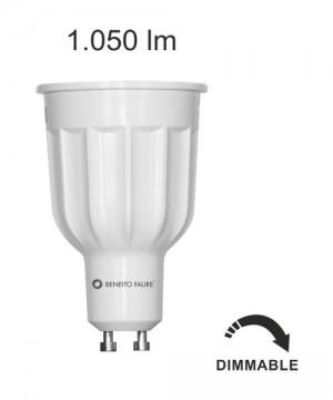BENEITO GU10 12w 220V 60º Lampadina Dicroica a LED 2700K o 4000K DIMMERABILE