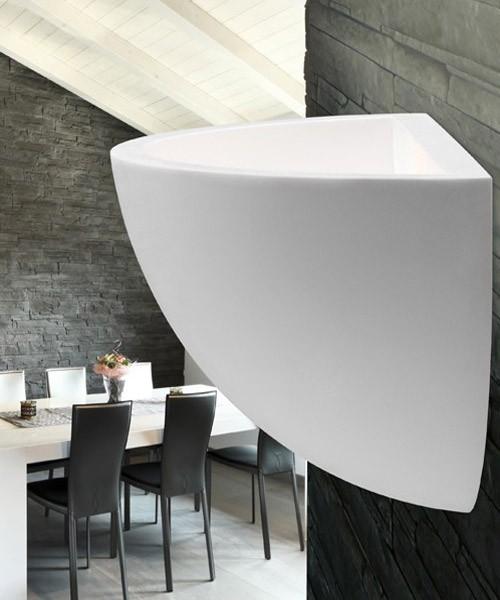 PAN Pod PAR313 Lampada Moderna da Parete in Gesso