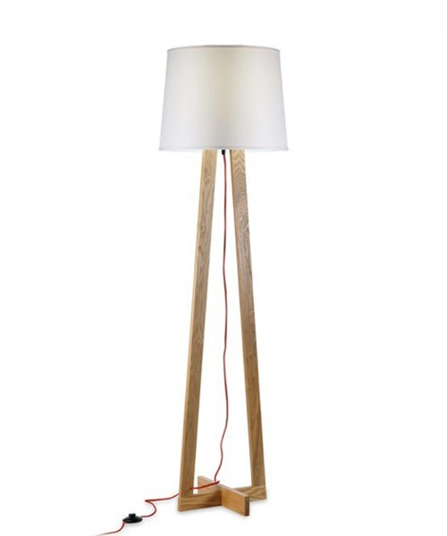 Pan maiko lampada da terra moderna 6 colori la luceria for Lampada da terra moderna