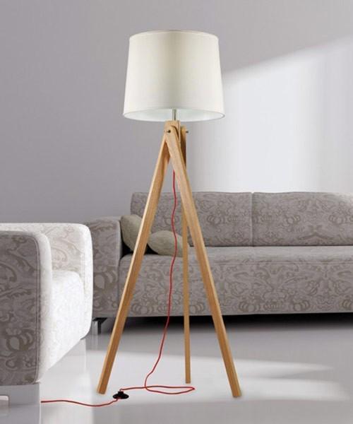 PAN Zaria Lampada da Terra moderna 6 Colori - La Luceria