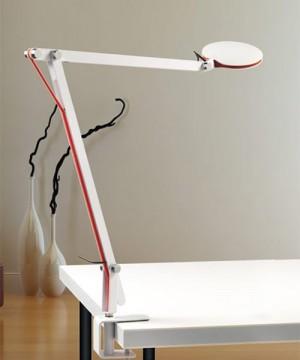 PAN Break Lampada Tavolo con morsetto 2 Colori
