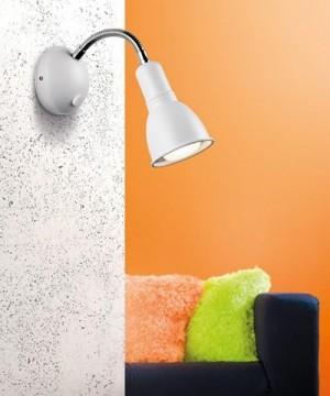 PAN Clip PAR088 Lampada Parete/Soffitto 2 Colori Orientabile