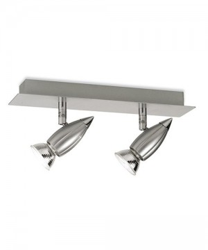 PAN Artic Led PFB367 Faretto Parete/Soffitto 2 Luci Orientabili