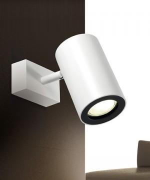 PAN Barro Led Lampada Parete/Soffitto Moderna Orientabile