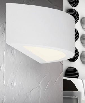 PAN Boreale PAR10326 Lampada in Gesso da Parete LED