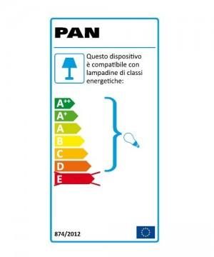 PAN Sau INC1158 Faretto da Incasso LED 7w