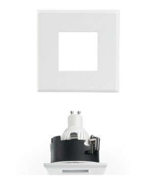 PAN Sau INC1153 Faretto da Incasso LED 7w