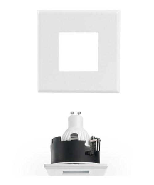 PAN Sau INC1153 Faretto da Incasso LED 7w