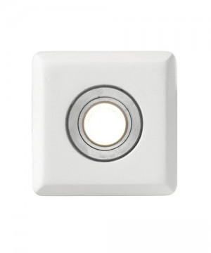 PAN Odino Led INC10518 Faretto da Incasso in Gesso per Controsoffitto