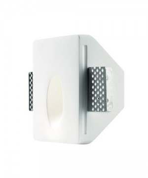 PAN Oblique LED INC1512 Faretto da Incasso in Gesso per Controsoffitto