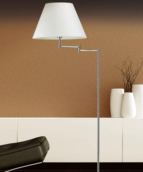 Pan soft ter066 lampada moderna da terra estensibile la for Lampada da terra moderna