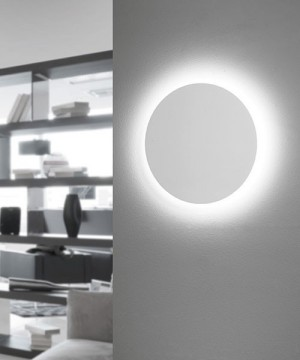 SFORZIN Black & White 1668.11 Applique a LED Moderna 28w Bianco