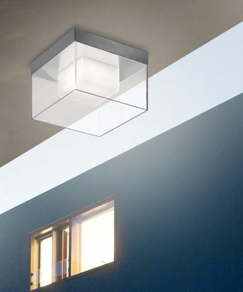 Pan lilly est469 lampada parete soffitto da esterno a led - Lampade per esterno a led ...