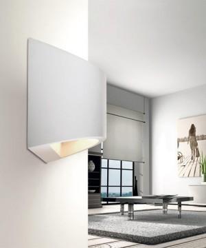 PAN Idra PAR10328 Lampada Parete LED in Gesso