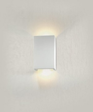 PAN Oberon PAR321 Lampada Parete LED in Gesso