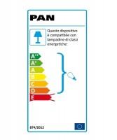 PAN Angolo Lampada Parete/Soffitto da Esterno 2 Colori