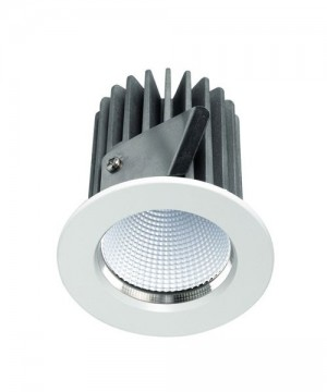 PAN Jango Round INC1180 Faretto da Incasso LED 9w