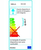 PAN Jango Round Anti-Glare INC1184 Faretto da Incasso LED 9w