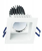 PAN Jango Square INC1190 Faretto da Incasso Quadrato a LED 9w