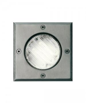 PAN Oblò Micro EST356 Lampada per Esterno da Incasso Quadrato