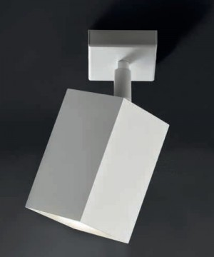 SCAMM Kuby Kb701 Lampada da Soffitto Orientabile vari colori