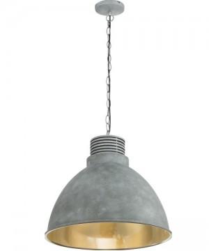 GLOBO Tagabo Lampadario Moderno Alluminio Ø 47cm