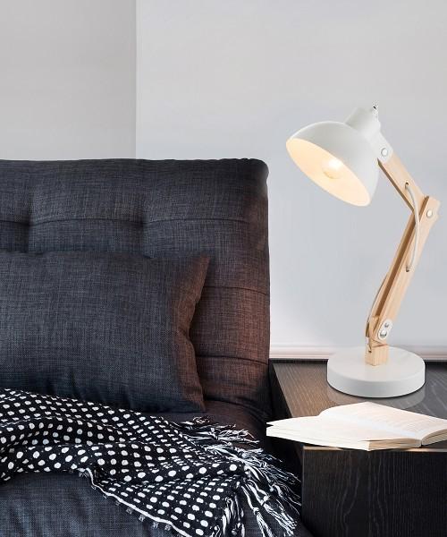 Globo tongariro lampada da tavolo moderna 2 colori la luceria - Lampada moderna da tavolo ...