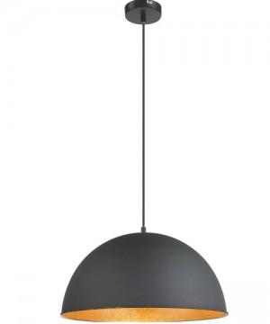 GLOBO Lenn 58305H Lampadario Metallo Nero/Oro Ø 41cm