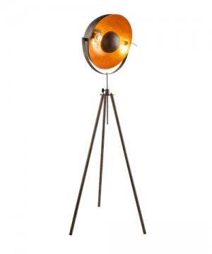 GLOBO Xirena I 58307 Lampada da Terra Metallo Ruggine/Oro