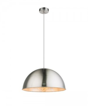 GLOBO Nosy 58306H Lampadario Metallo Nichel/Argento Ø 41cm
