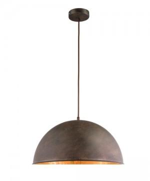 GLOBO Xirena I 58307H Lampadario Metallo Metallo Ruggine/Oro Ø 41cm