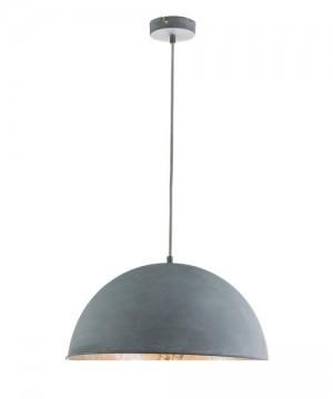 GLOBO Miram 58308HLampadario Metallo Metallo Cemento/Argento Ø 41cm