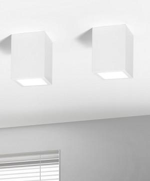 SFORZIN Esiodo T96 Lampada Moderna a Soffitto in Gesso