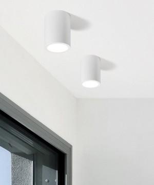SFORZIN Dati T99 Lampada Moderna a Soffitto in Gesso