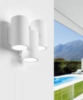 SFORZIN Arta T254 Lampada Moderna a Parete in Gesso a 3 luci