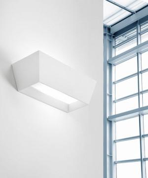 SFORZIN Melos T211 Lampada Moderna a Parete in Gesso