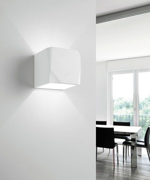 SFORZIN Opus T195 Lampada Moderna a Parete in Gesso