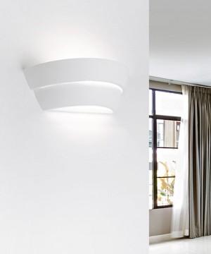SFORZIN Aeginia T182 Lampada Moderna a Parete in Gesso