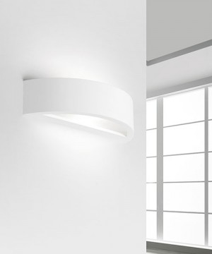 SFORZIN Andros T184 Lampada Moderna a Parete in Gesso
